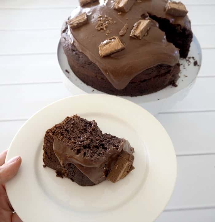 Chocolate mars bar cake recipe