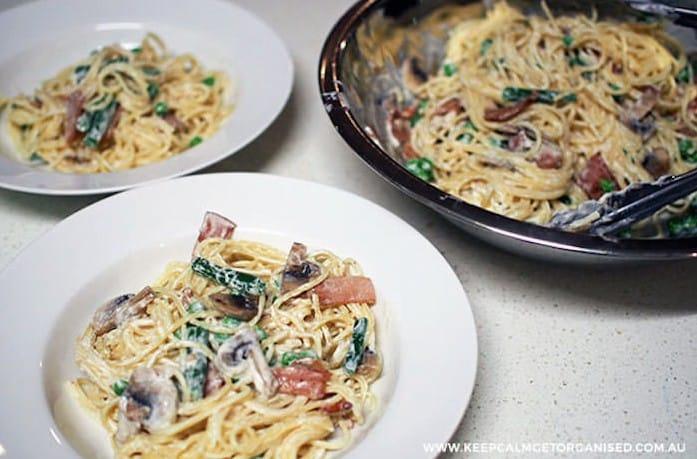 Healthy Creamy Pasta
