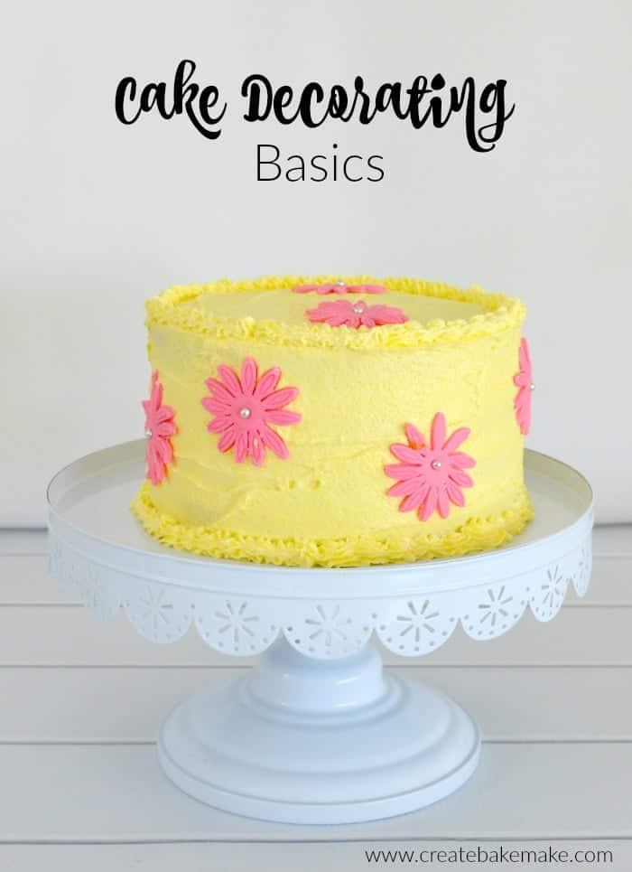 Cake Decorating Basics 1