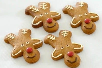 Christmas Reindeer Biscuits