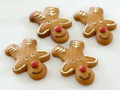 Christmas Reindeer Biscuits Feature