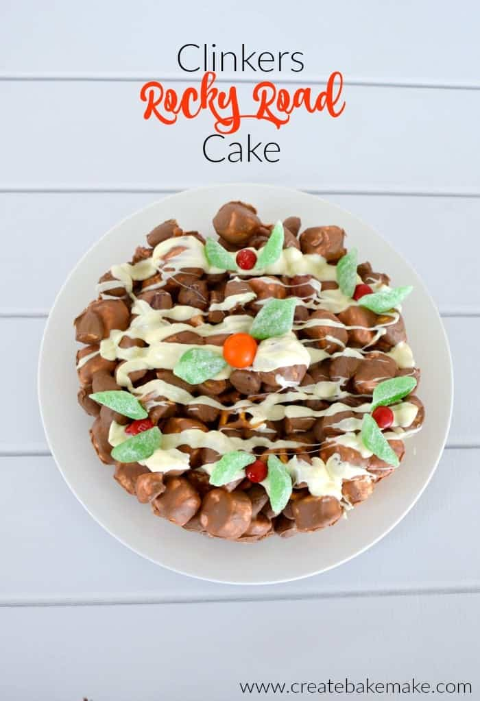 Clinkers Rocky Road Cake