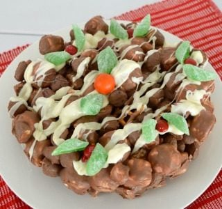 Clinkers Rocky Road Christmas Cake