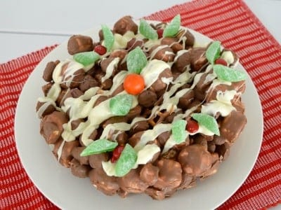 Clinkers Rocky Road Christmas Cake Feature