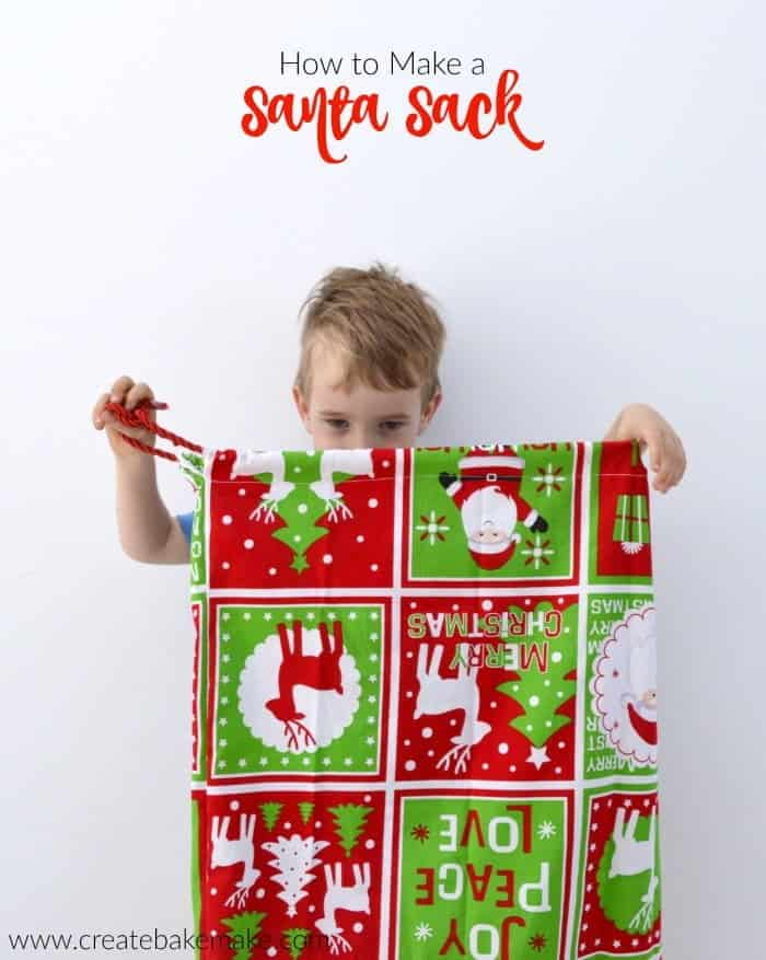 How to make a Santa Sack 7