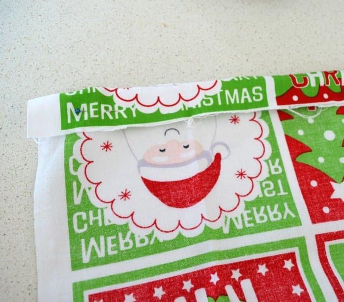 How to make a santa sack 3