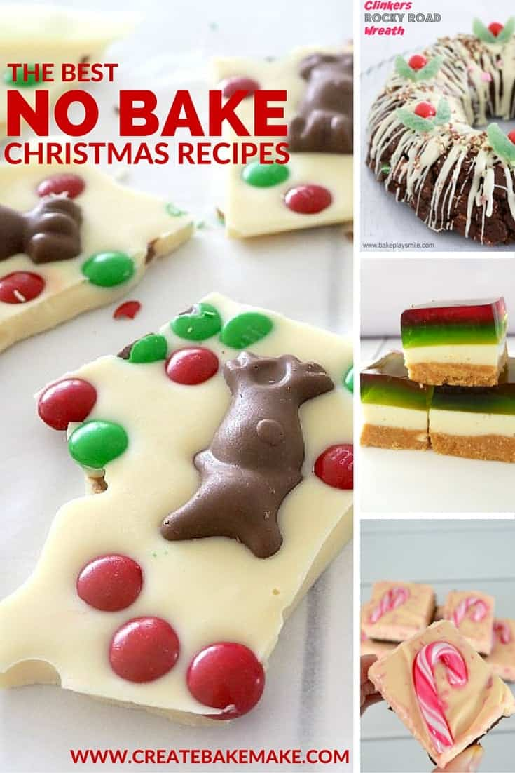 The BEST No Bake Christmas Recipes Collection