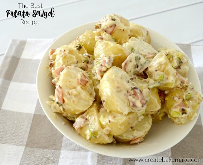 The Best Potato Salad Recipe Create Bake Make