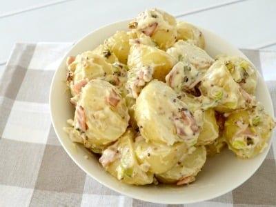 The Best Potato Salad Recipe Feature