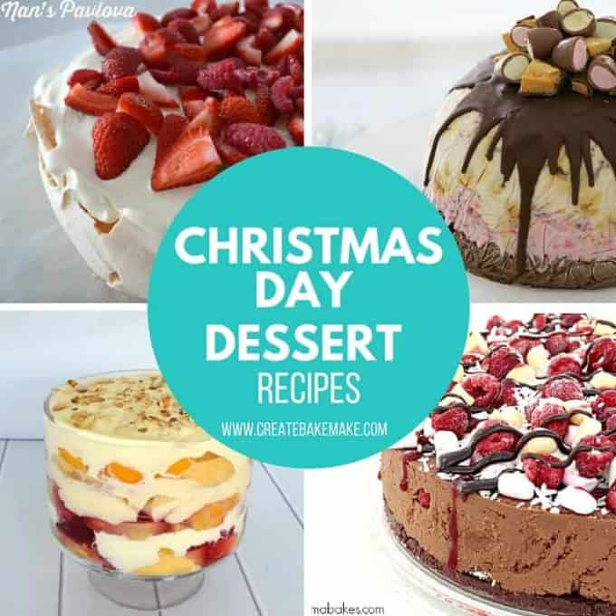 christmas day dessert recipes