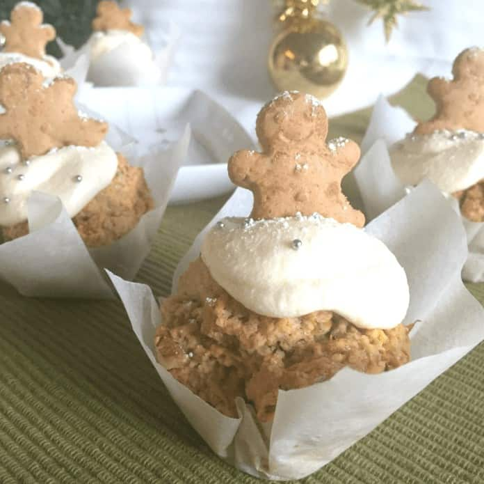 Carrot and Gingerbread Men Muffins