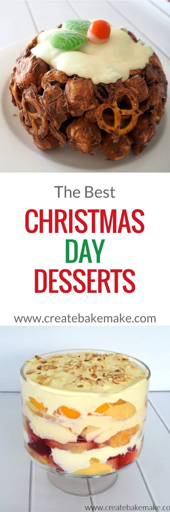Easy Christmas Day Desserts recipes