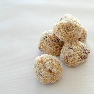 White Chocolate Chip and Cherry Balls