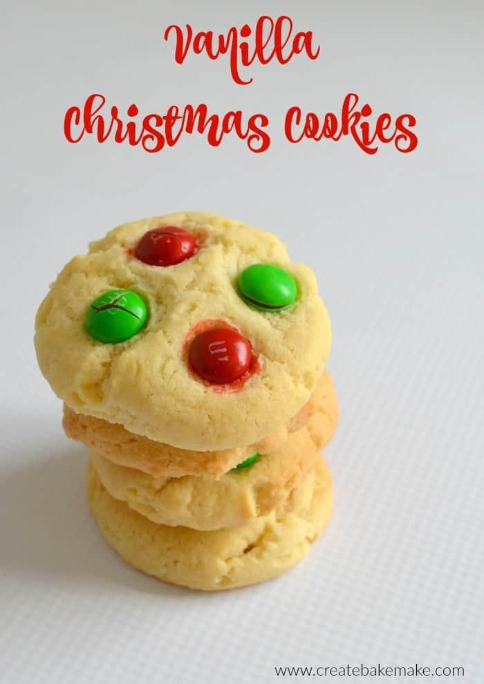 Vanilla Christmas Cookie Recipe