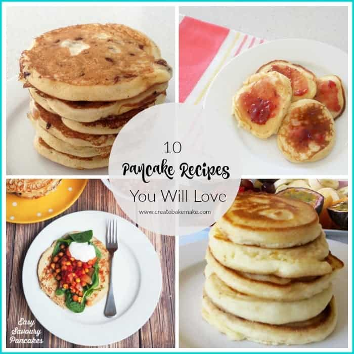 10 yummy pancake recipes you will love