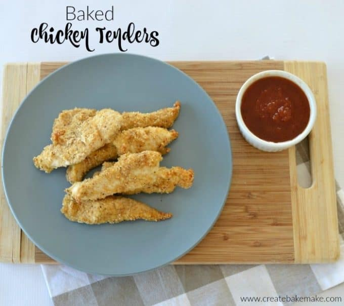 Baked Chicken Tenders 3