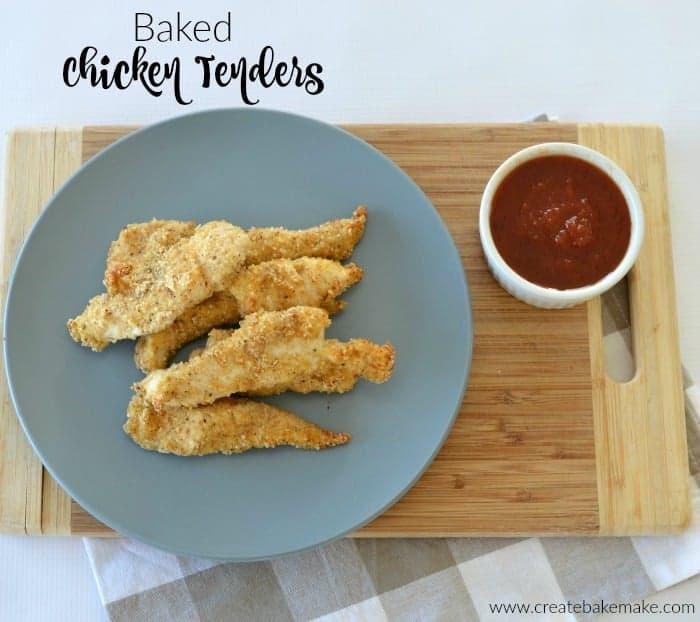 Baked Chicken Tenders 3