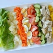 Family Friendly Cobb Salad Recipe