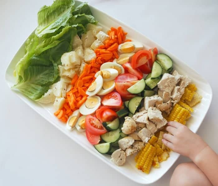 Family Friendly Chicken Cobb Salad Recipe