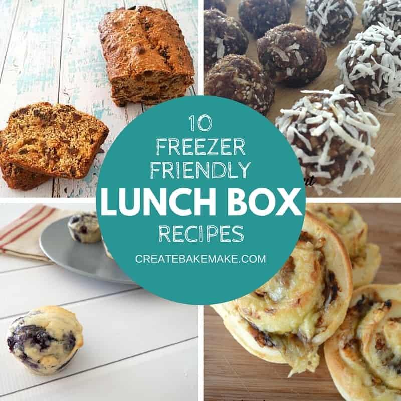 easy freezer friendly lunch box ideas