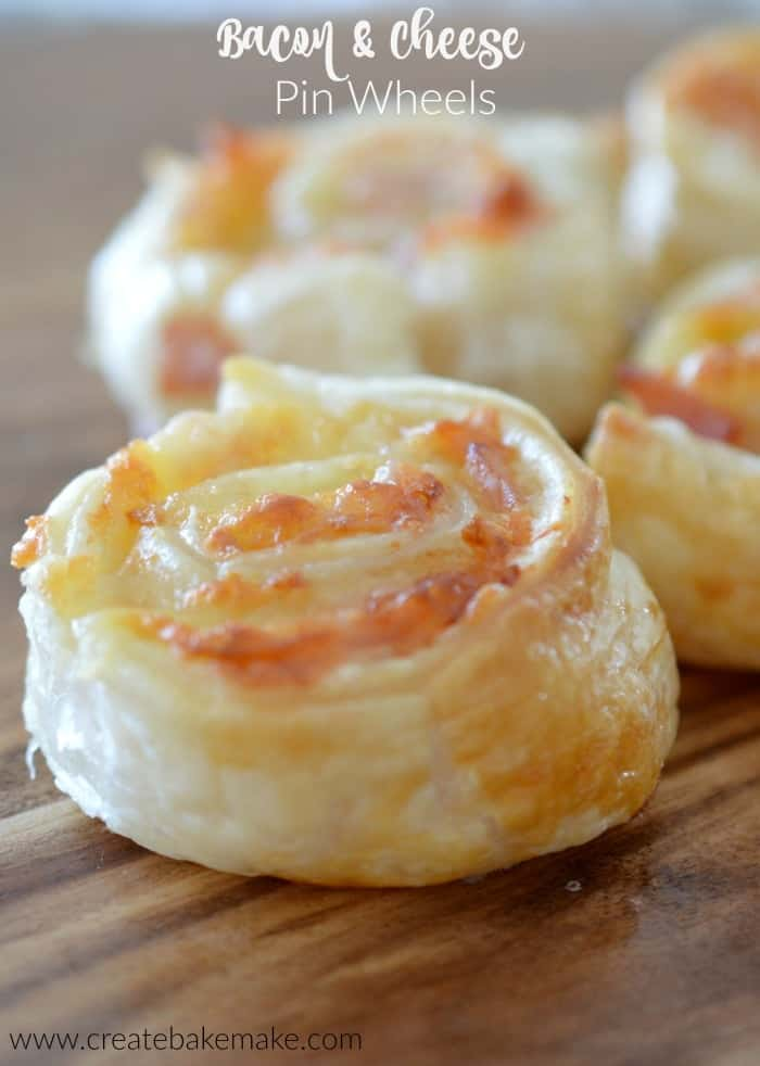 Bacon and Cheese Pinwheels