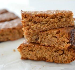 Homemade Peanut Butter and Honey Muesli Bars