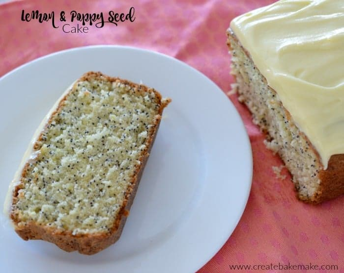 Easy Lemon and Poppy Seed Cake