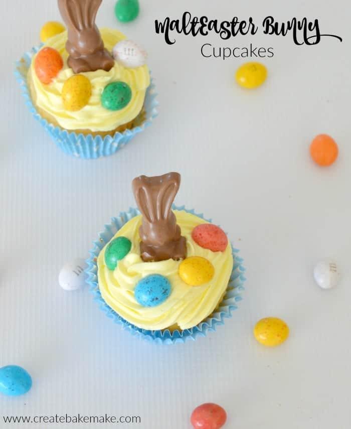 Maltesers Bunny Cupcakes