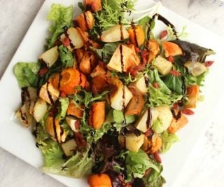Simple Roasted Vegetable Salad
