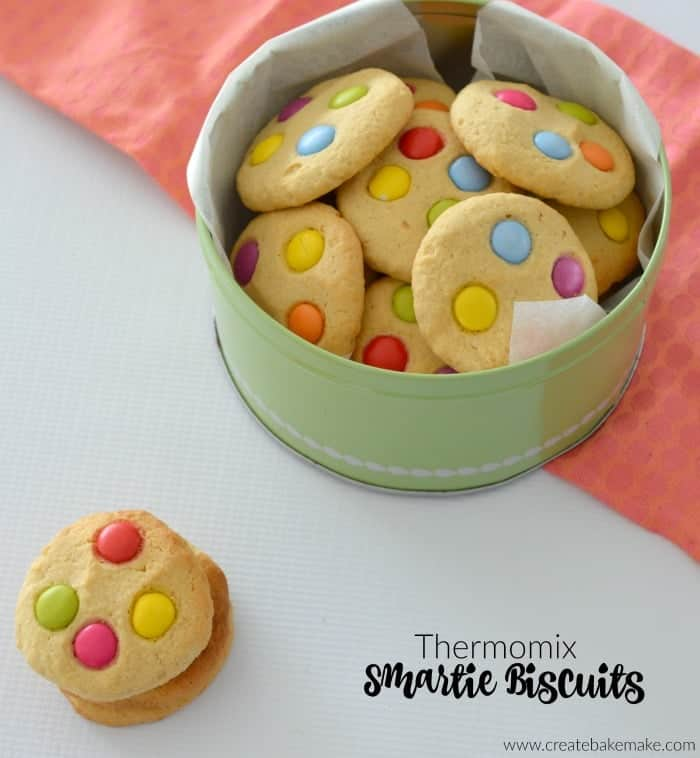 Thermomix Smartie Biscuits