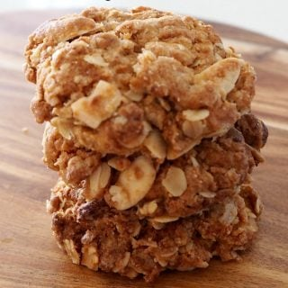 Almond Anzac Biscuits Recipe
