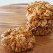 Almond Anzac Biscuits Recipe