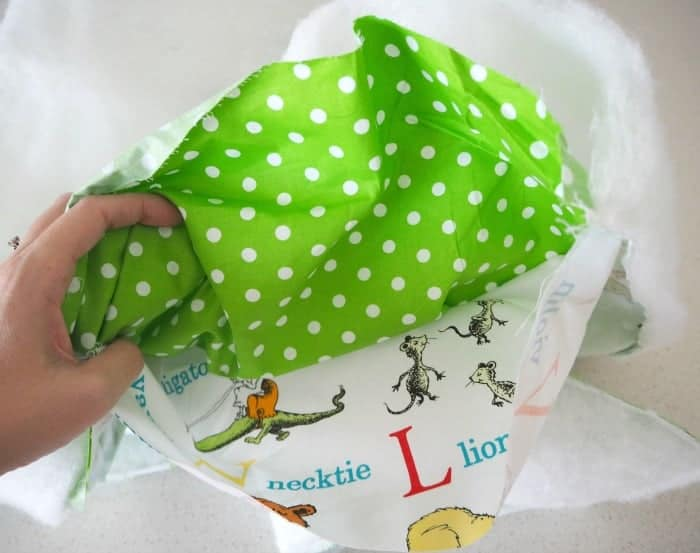 How to make a baby play mat 4