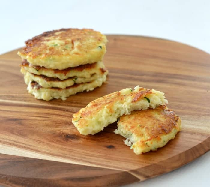 Cheese and Cauliflower Fritter Recipe