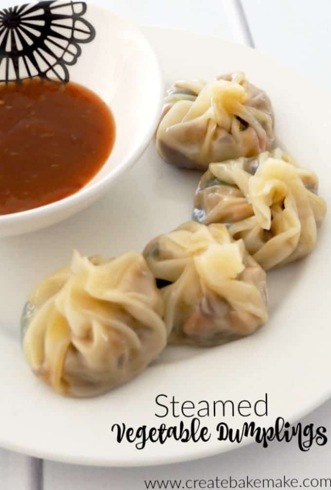 Steamed Vegetable Dumplings Create Bake Make