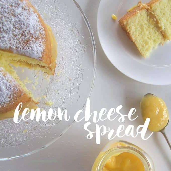 Lemon Cheese Spread Recipe