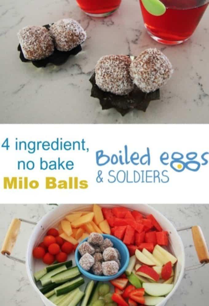 Easy Milo Balls Recipe