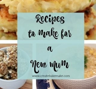 16 Recipes to Make for a New Mum