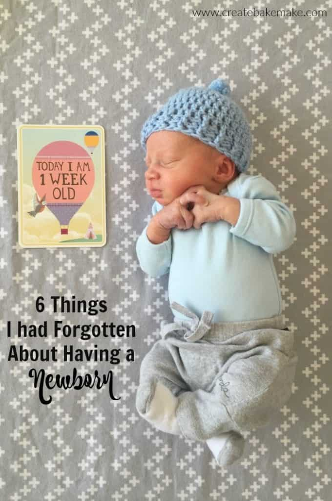 6 things I had forgotten about having a newborn