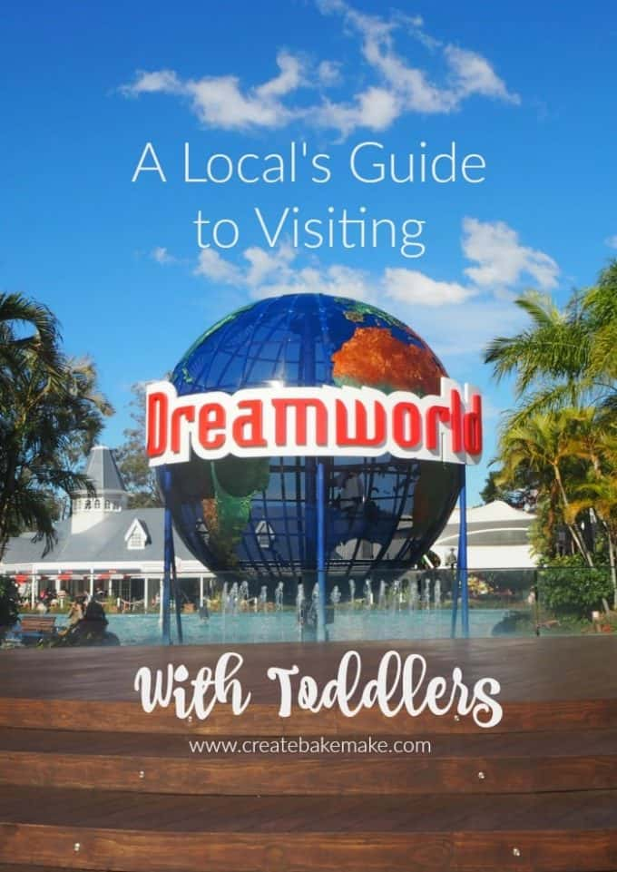 a locals guide to visiting dreamworld with toddlers
