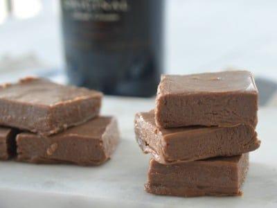 3 Ingredient Chocolate Baileys Fudge