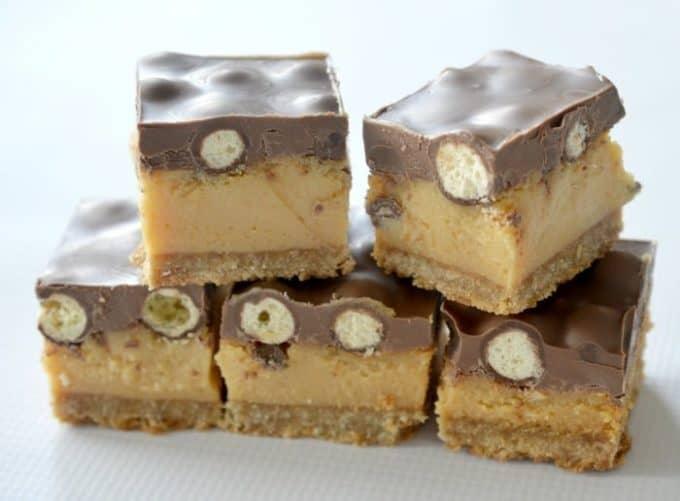 Caramel Maltesers Slice