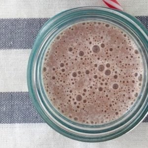 Healthy Choc Berry Smoothie Recipe