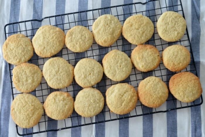 Nans Coconut Biscuits
