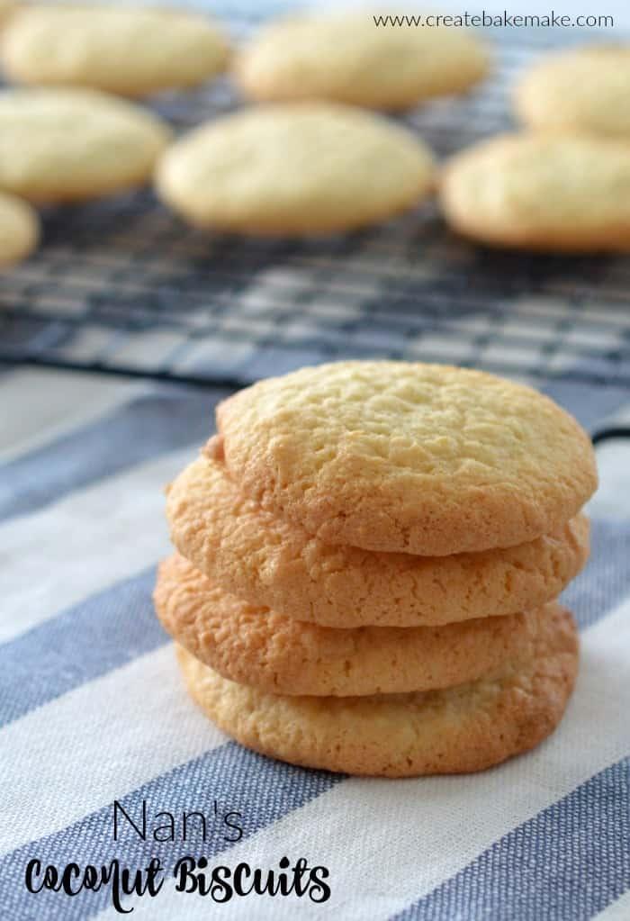 Nan's Coconut Biscuits