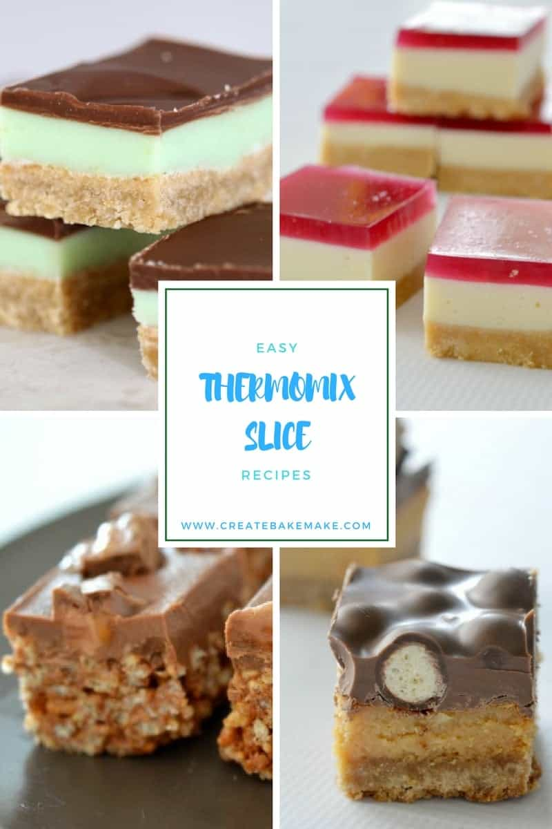 easy thermomix slice recipes