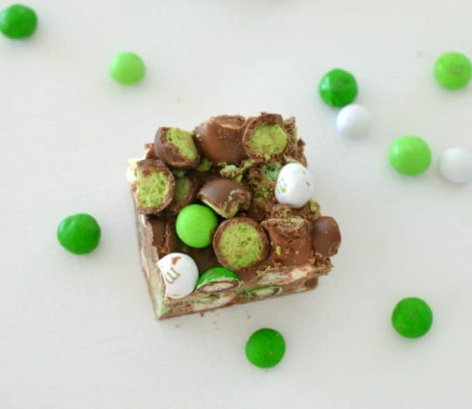 Chocolate Mint Rocky Road Recipe