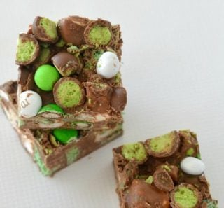 Chocolate Mint Rocky Road