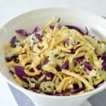 Crunchy Noodle Salad with Toasted Almonds Recipe