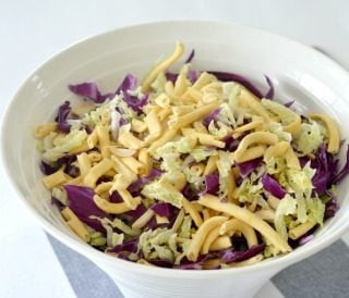 Crunchy Noodle Salad with Toasted Almonds